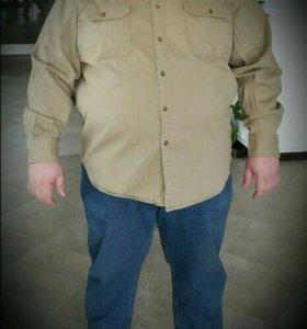Одежда большего размера!!!Рубашка мужская