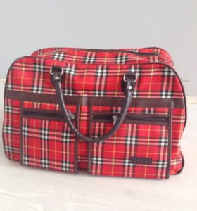 Дорожная сумка из плотной ткани Г20/В30/Д50