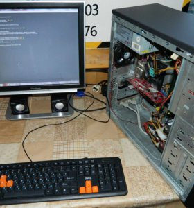 Компьютер Athlon X2/ 2 гб/ ATI X1650 256 мб/ 2 жд