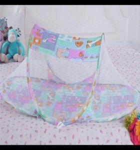 Складная палатка с сеткой для малыша