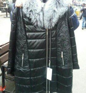 Куртка зимняя женская 64р-р