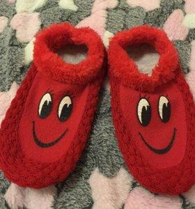 Домашние тапочки -носочки