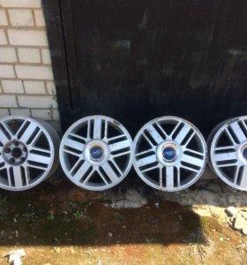 Оригинальные литые диски форд ford