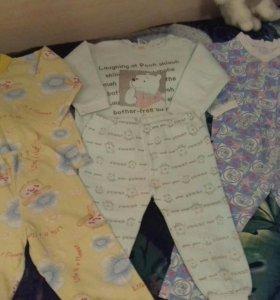 Пижамы 1-2 года