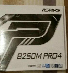 Материнская плата AsRock B250М Pro4
