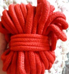 Веревки из хлопка. 10м