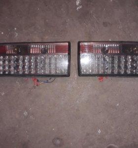 Задние фанари на диотах ВАЗ-2107