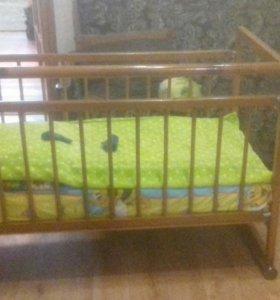 Отдам Кроватку детскую