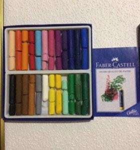 Масляная пастель Faber-Castell 24 цвета