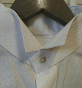 Рубашка под бабочку и запонки