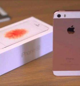 iPhone 5se 32Гб Новый рст на гарантии