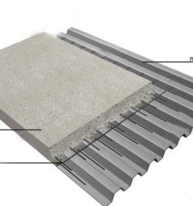Профнастил под бетон