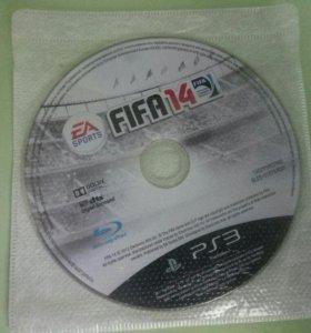 Диск с Fifa 14 для PS3