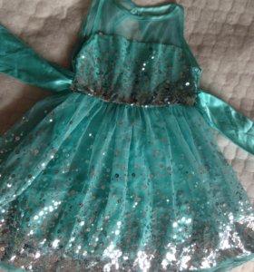 Платье нарядное для девочки 8 лет