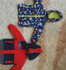 Верхняя одежда на мальчика: ветровки, парка, жилет