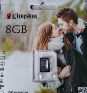 MicroSD карта 8Gb в телефон, планшет,...