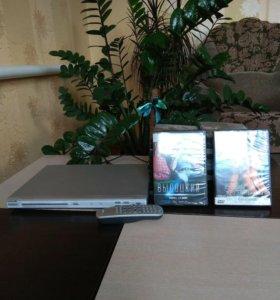 ДВД Филипс и 25 лицензионных фильмов