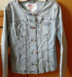 Джинсовый легкий пиджачок