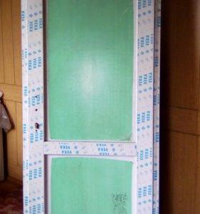 Пластиковые двери 85 х 200 см