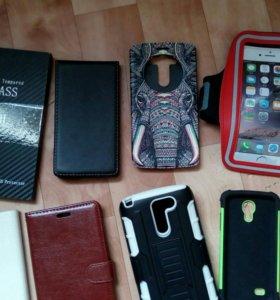 Чехлы и бамреры на смартфоны