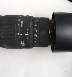 Объектив canon sigma 70-300mm