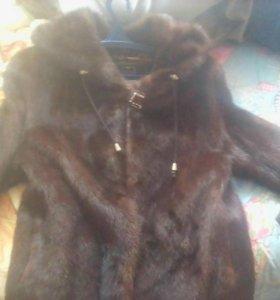 Шуба-куртка норковая