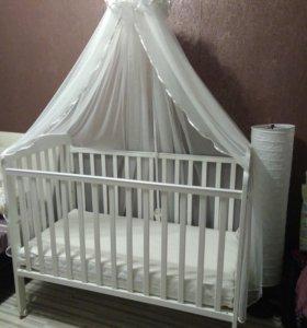 Кровать детская новая все в комплекте