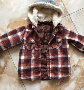 Рубашка-куртка детская