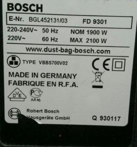 BOSCH Maxx'x 2200 на разбор