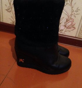 Ботинки зимние в отличном состоянии