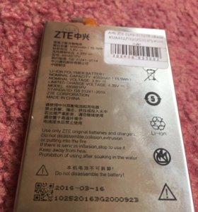 Батарея для телефонов ZTE Новая