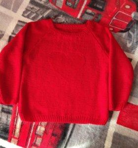 Пуловер на девочку.