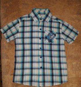 Фирменная рубашка,р-р 122