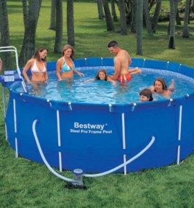 Каркасный бассейн с доставкой на Ваш участок!