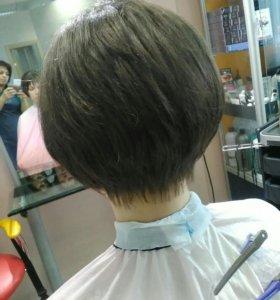 Стрижка,все парикмахерские услуги на дому и в сало