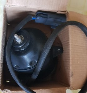 Мотор вентилятора охлаждения LIFAN SOLANO новый