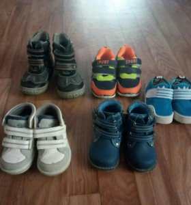 Обувь на мальчика 1-2года