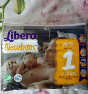 Подгузники Libero Newborn 1