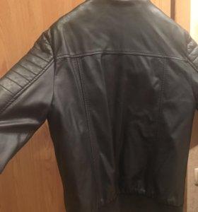 Куртка для мальчика( кож.зам)