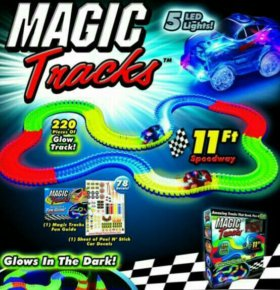 волшебная трасса magick track 220 дет