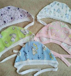 Чепчики для новоржденных