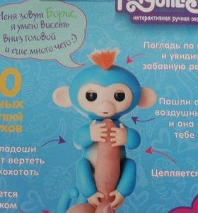 Интерактивная обезьянка Фингерлингз оригинал