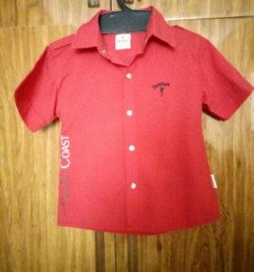 Стильная рубашка для мальчика 3-4года