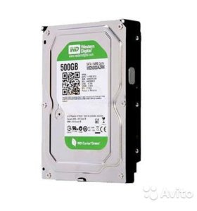 WD Caviar Green IntelliPower 500 Gb