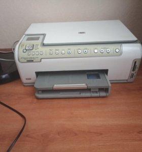 Струйный принтер фотопринтер HP Photosmart C6283