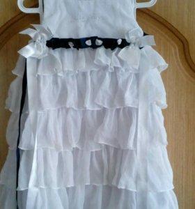 Платье для малышки на 1-2 года