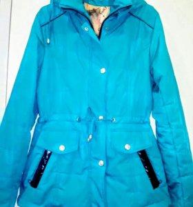 Курточка на девочку березовый цвет размер 42