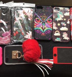 Чехлы и стекло iPhone 7
