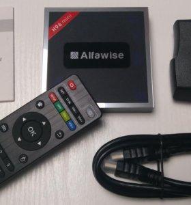 Смарт ТВ приставка H96 Mini