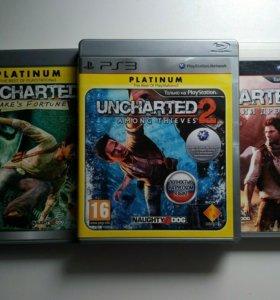 uncharted 1/2/3